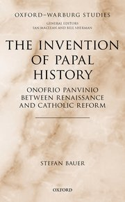 Cover for     The Invention of Papal History