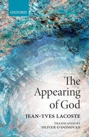 The Appearing of God Book Cover