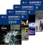 blackstone s police manuals 2019 four volume set paul connor rh global oup com legal annual leave entitlement legal analysis