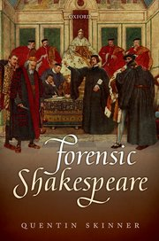 Cover for   Forensic Shakespeare