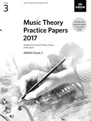 Music Theory Practice Papers 2017BRSM Grade 3
