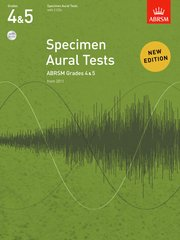 Specimen Aural Tests, Grades 4 and 5 with 2 CDs