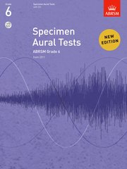 Specimen Aural Tests, Grade 6 with CD