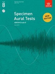 Specimen Aural Tests, Grade 8 with 2 CDs