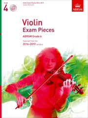 Violin Exam Pieces 2016-2019, ABRSM Grade 4, Score, Part and CD