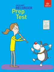 Recorder Prep Test Cover