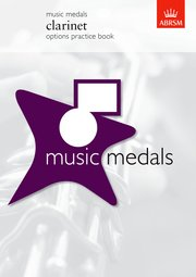 Music Medals Clarinet Options Practice Book