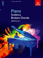 Piano Scales and Broken Chords, Grade 1 Cover