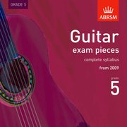 Guitar Exam Pieces 2009 CDBRSM Grade 5