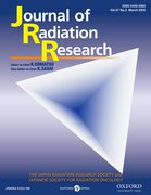 Cover for Journal of Radiation Research