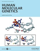 Cover for Human Molecular Genetics - 14602083