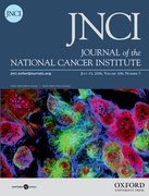 Cover for JNCI: Journal of the National Cancer Institute - 14602105
