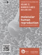Cover for Molecular Human Reproduction