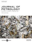 Cover for Journal of Petrology