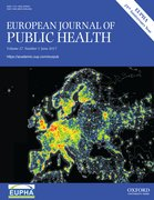Cover for The European Journal of Public Health - 1464360X