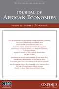 Cover for Journal of African Economies