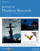 Cover for Journal of Plankton Research