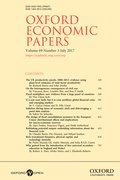 Cover for Oxford Economic Papers