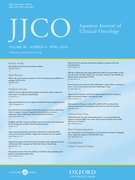 Cover for Japanese Journal of Clinical Oncology