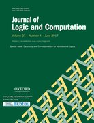 Cover for Journal of Logic and Computation