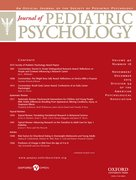Cover for Journal of Pediatric Psychology
