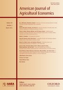 Cover for American Journal of Agricultural Economics