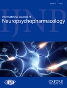 Cover for International Journal of Neuropsychopharmacology