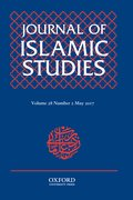 Cover for Journal of Islamic Studies