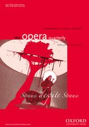Cover for The Opera Quarterly