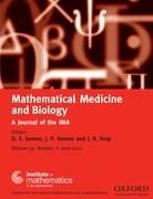 Cover for Mathematical Medicine and Biology: A Journal of the IMA