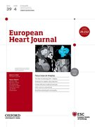 Cover for European Heart Journal - 15229645