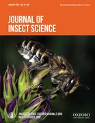 Cover for Journal of Insect Science