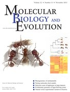 Cover for Molecular Biology and Evolution