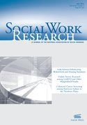 Cover for Social Work Research