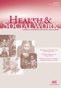 Cover for Health & Social Work