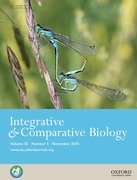 Cover for Integrative and Comparative Biology