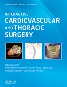 Cover for Interactive CardioVascular and Thoracic Surgery