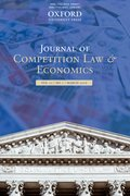 Cover for Journal of Competition Law & Economics