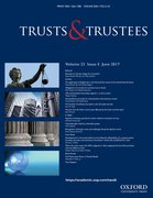 Cover for Trusts & Trustees