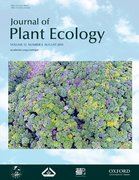 Cover for Journal of Plant Ecology