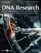 Cover for DNA Research