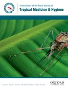 Cover for Transactions of The Royal Society of Tropical Medicine & Hygiene