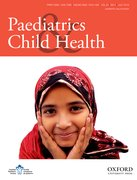 Cover for Paediatrics & Child Health