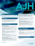 Cover for American Journal of Hypertension