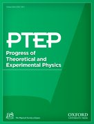Cover for Progress of Theoretical and Experimental Physics