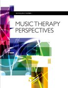 Cover for Music Therapy Perspectives