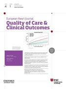 Cover for European Heart Journal - Quality of Care and Clinical Outcomes