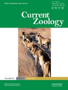Cover for Current Zoology