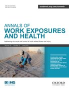 Cover for Annals of Work Exposures and Health