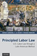 Cover for Principled Labor Law - 9780190052669